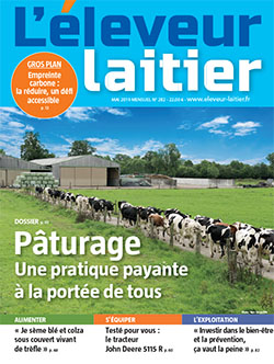 Couverture du magasine L'éleveur laitier