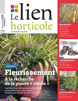 Couverture du magasine Le Lien Horticole