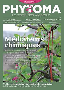 Couverture du magasine Phytoma