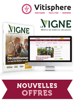 Couverture du magasine La Vigne